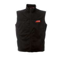 Gilet in soft shell impermeabile
